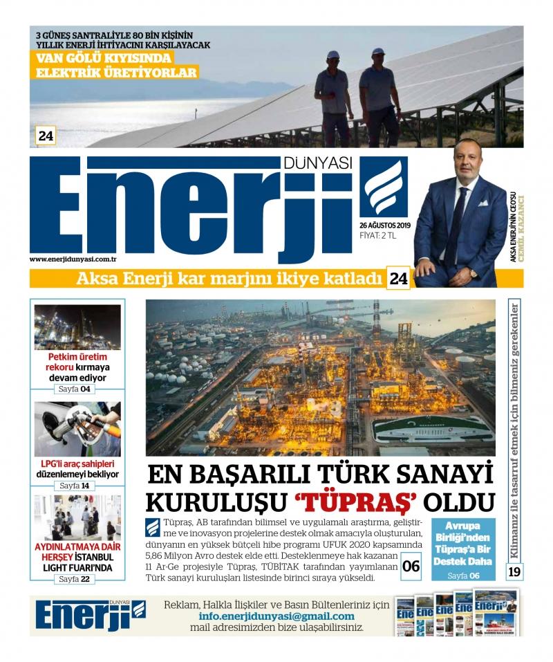 E-Gazete - 2019 Ağustos
