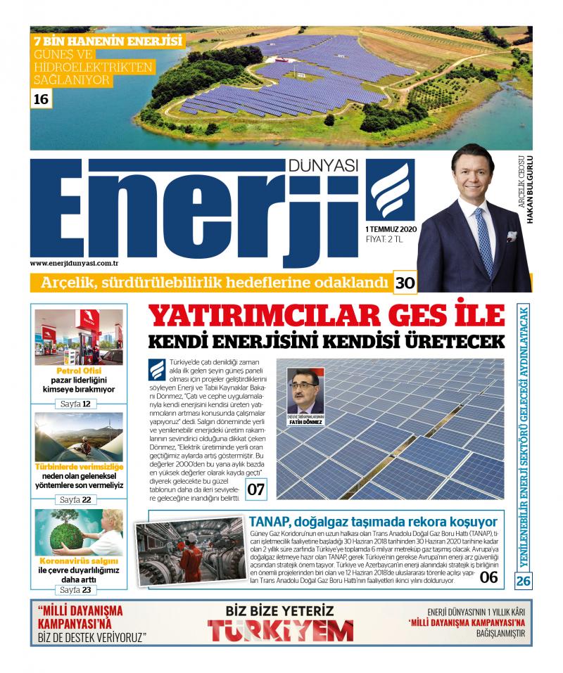 Enerji Dünyası E-Gazete - Temmuz 2020