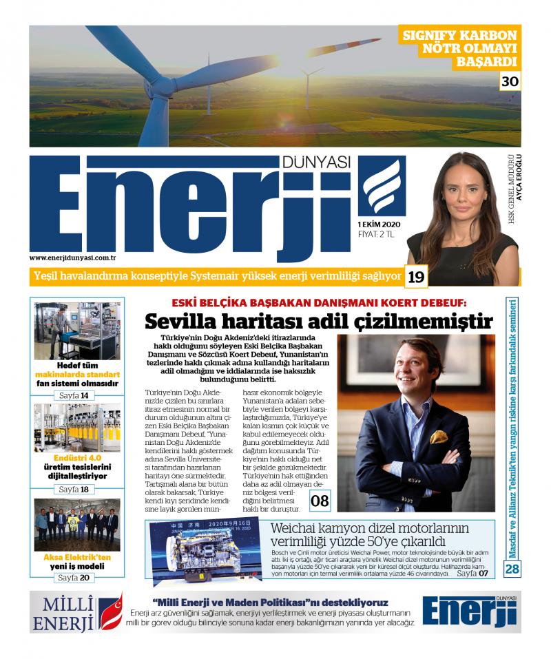 Enerji Dünyası E-Gazete - Ekim 2020