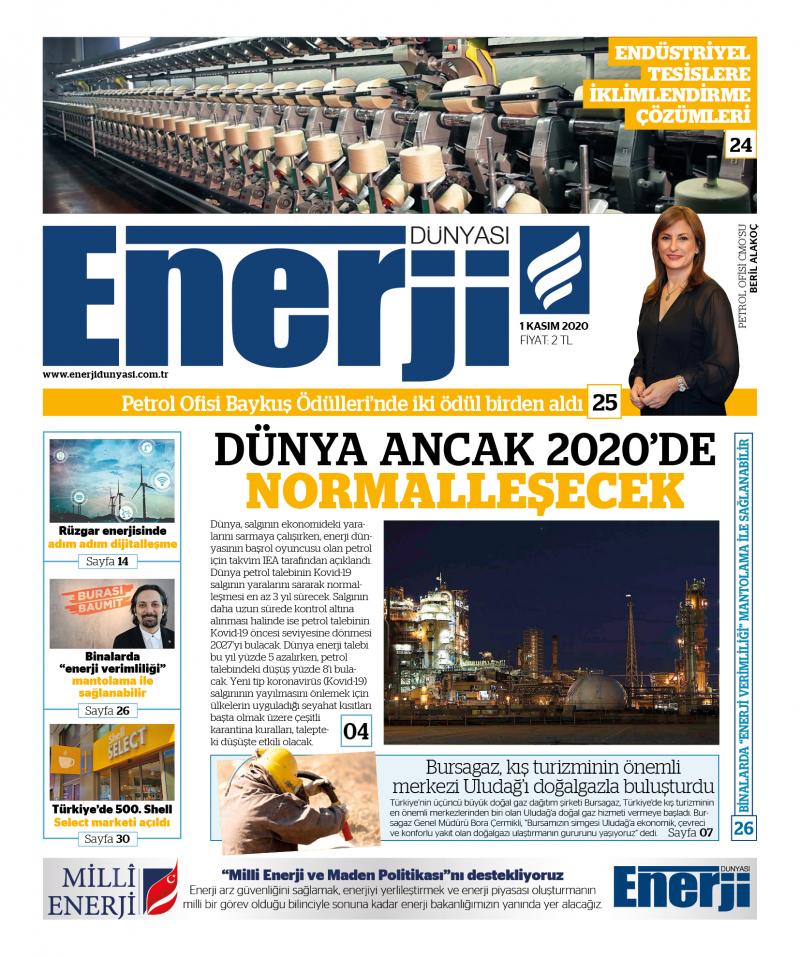 Enerji Dünyası E-Gazete - Kasım 2020