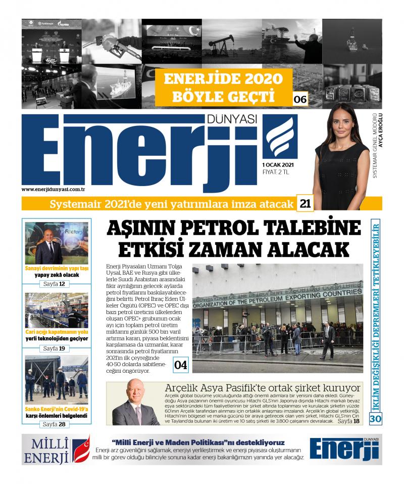 Enerji Dünyası E-Gazete - Ocak 2021