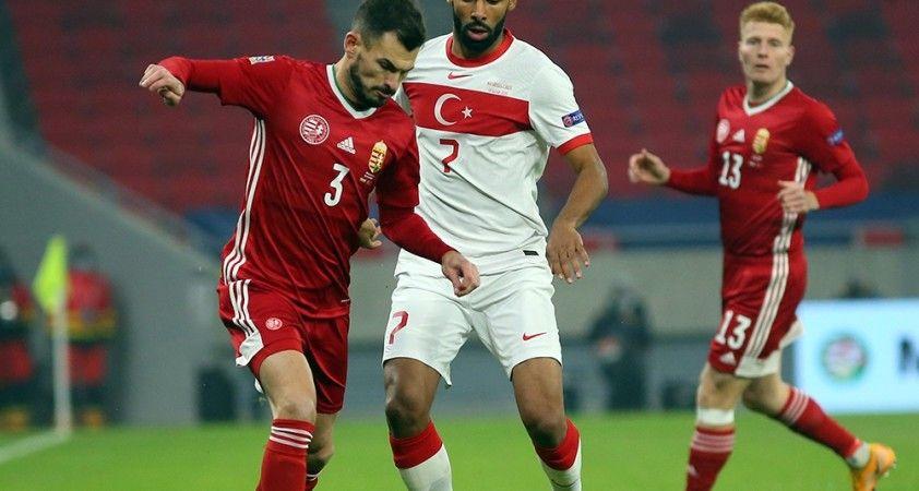 UEFA Uluslar Ligi: Macaristan: 0 - Türkiye: 0 (İlk yarı)