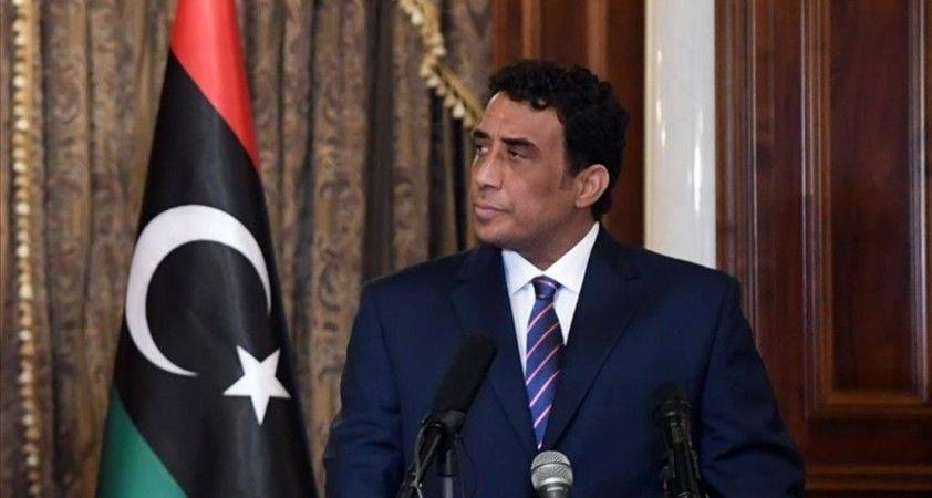 Libya Başkanlık Konseyi Başkanı, Abu Dabi Veliaht Prensi'yle Libya'daki siyasi durumu görüştü