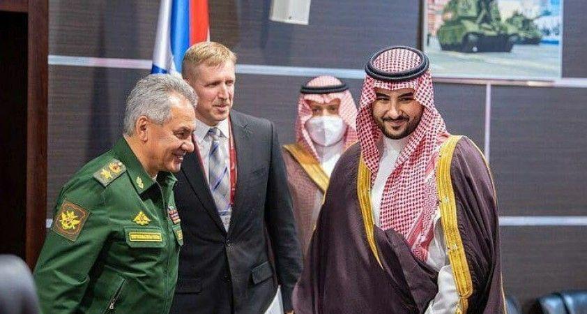Rusya ve Suudi Arabistan arasında askeri iş birliği anlaşması imzalandı