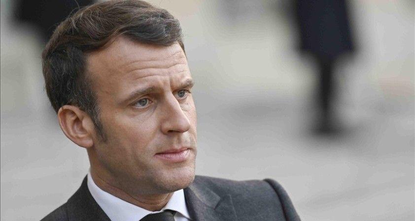 Macron: Libya'da istikrar ve barış sağlanmadan Akdeniz, Sahel bölgesi ve Afrika'da barış olmaz