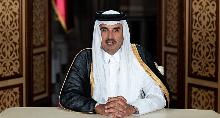 Katar Emiri Al Sani'den Tatvan'daki helikopter kazası nedeniyle Erdoğan'a taziye telgrafı