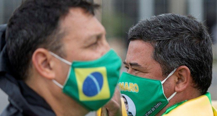 Brezilya kabusu yaşıyor: Bir günde bin 262 kişi koronadan öldü