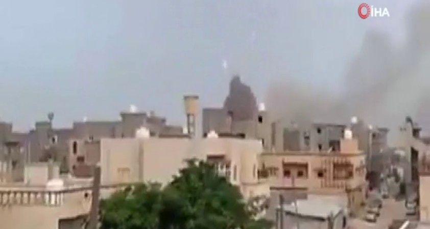 Libya'da mühimmat deposunda patlama