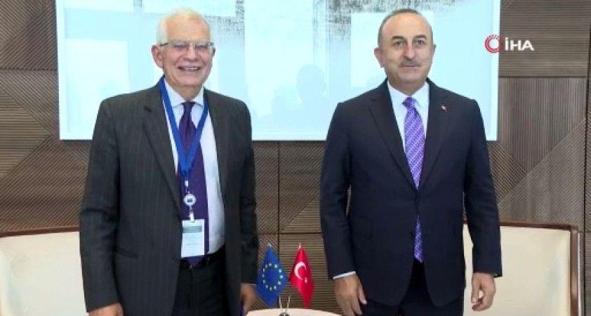 Bakan Çavuşoğlu, AB Komiseri Borrell ile görüştü