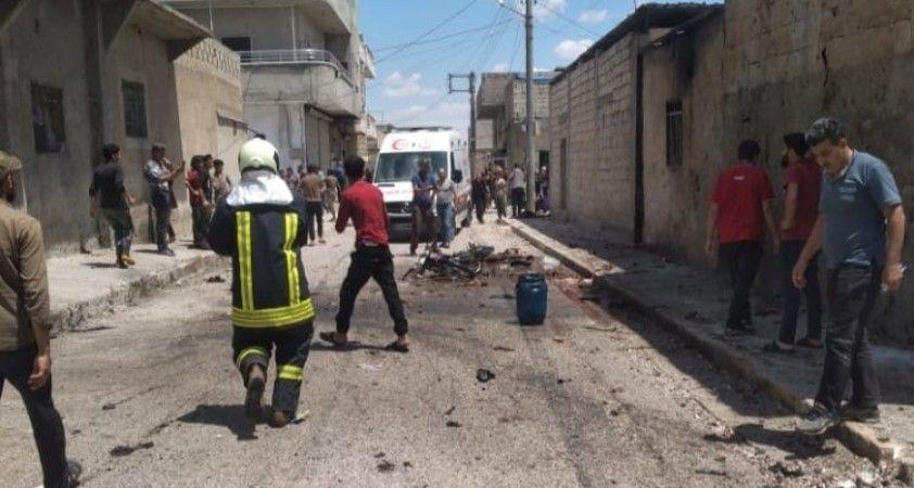 Cerablus'ta bomba yüklü motosiklet patladı: 3 ölü