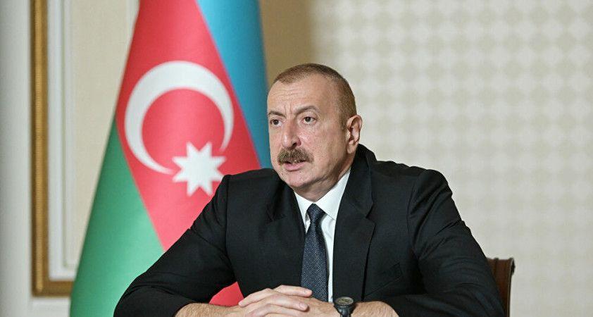 Azerbaycan Cumhurbaşkanı Aliyev'den işgal açıklaması