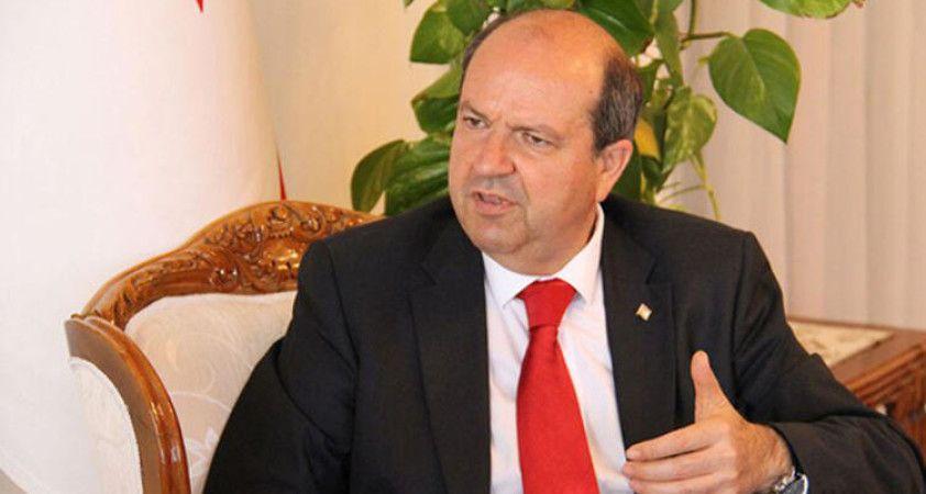 KKTC Cumhurbaşkanı Tatar'dan ABD'nin Türkiye'ye yaptırım kararına sert tepki