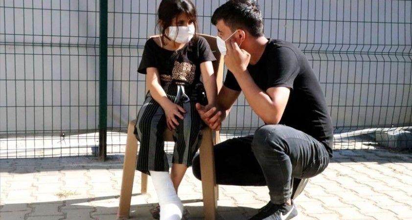 Yunan askerinin 8 yaşındaki Gazin'i sınırda plastik mermiyle yaraladığı iddia edildi