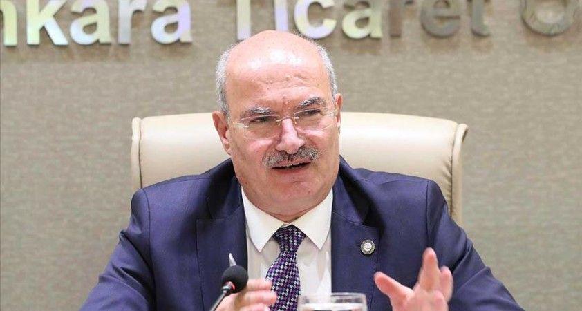 ATO Başkanı Baran: Türkiye ekonomisinin ilk 10 ekonomi arasına gireceğine inancımız tam