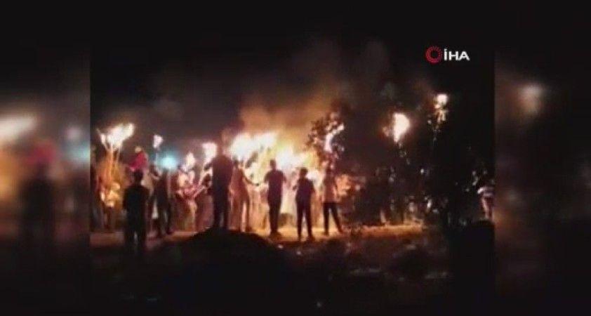 İsrail'in yerleşimci politikalarını protesto eden Filistinlilere müdahale: 61 yaralı