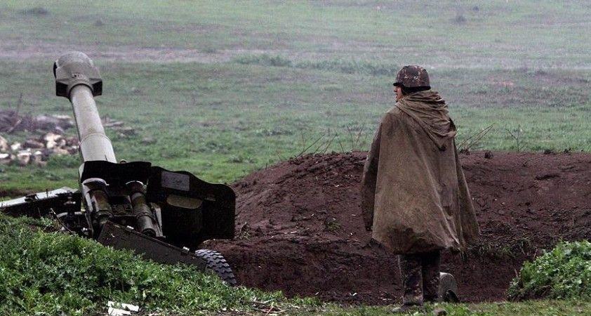 Karabağ'da yasa dışı Ermeni silahlı gruplarca açılan ateşte Azerbaycan askeri şehit oldu