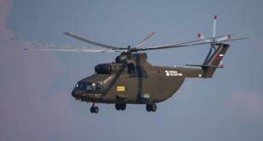 Ukrayna sınırında Rus askeri helikopterlerin uçuş gerçekleştirdiği iddiası