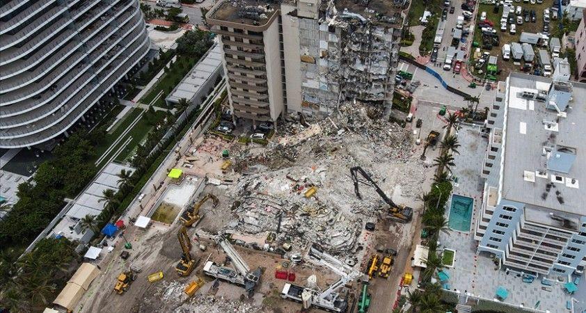 Miami'de bir kısmı çöken 13 katlı binanın tamamının yıkılmasına karar verildi