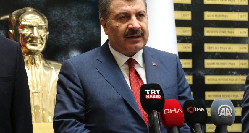 Sağlık Bakanı Koca Edirne'de