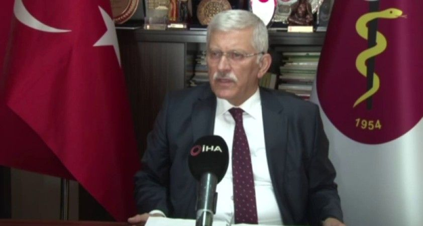 """TVHB Başkanı Eroğlu: """"Covid-19'da mutlaka aşı bilincinin geliştirilmesi gerekiyor"""""""