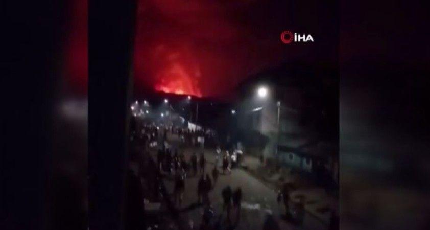 Kongo Demokratik Cumhuriyeti'nde yanardağ patladı: 3 bin 500 kişi Ruanda'ya kaçtı