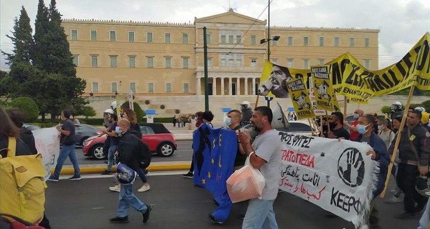 Atina'da faşizm ve ırkçılık karşıtı eylem yapıldı