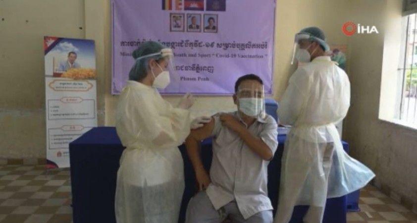 Kamboçya'da Covid-19 salgınının başlamasından bu yana en yüksek günlük vaka