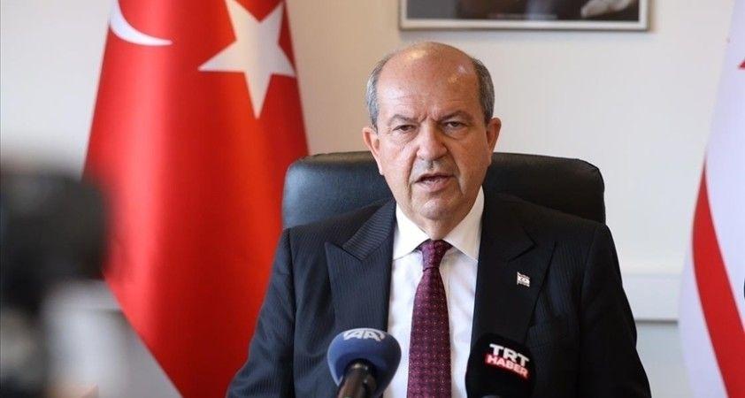 KKTC Cumhurbaşkanı Tatar: Kıbrıs Cumhuriyeti bir Rum devletine dönüşmüştür