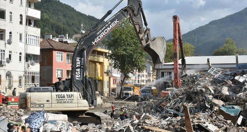 Bozkurt ilçesindeki sel felaketinde ağır hasar alan ortaokul, spor salonu ve pansiyon yeniden yapılacak