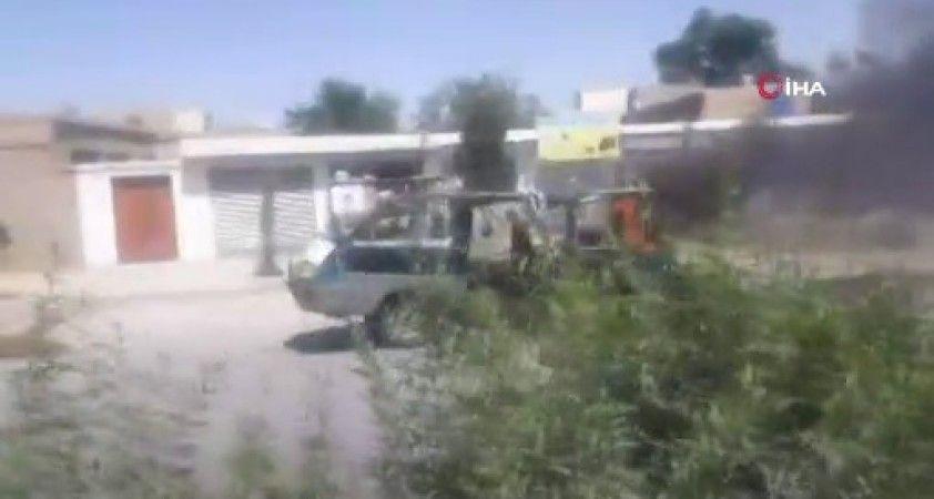 Afganistan'da minibüsün geçişi sırasında mayın patladı
