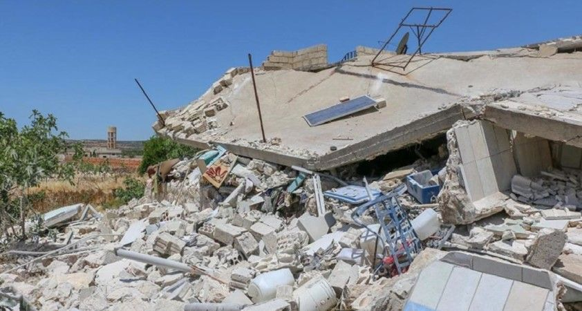 Esad rejimi İdlib'i hedef aldı: 4 ölü, 3 yaralı