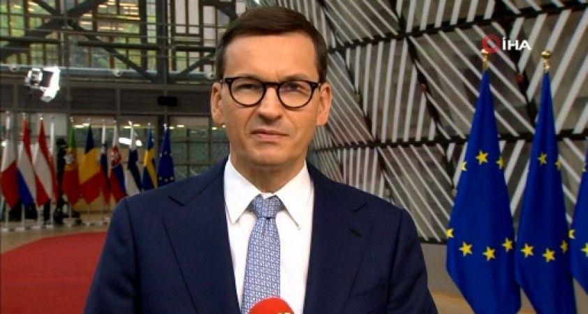 Polonya Başbakanı Morawiecki: