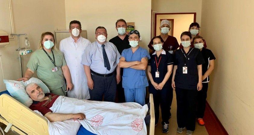 Bandırma Eğitim ve Araştırma Hastanesi'nde EVAR yöntemle ilk ameliyat yapıldı