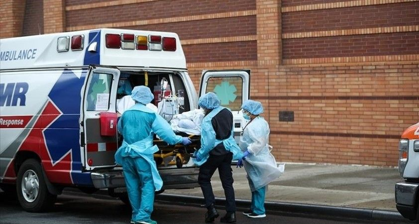 ABD'de Kovid-19 salgınında ölenlerin sayısı 588 bin 548'e yükseldi