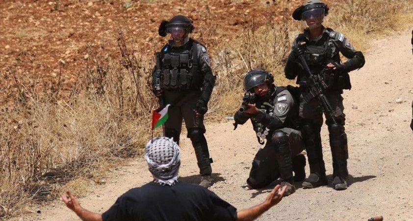 İsrail askerlerinden Filistinlilerin Batı Şeria'daki gösterilerine müdahale: 7 yaralı