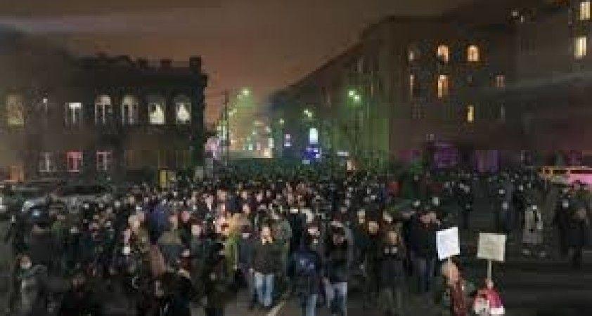 Ermenistan'da Paşinyan karşıtı gösteri