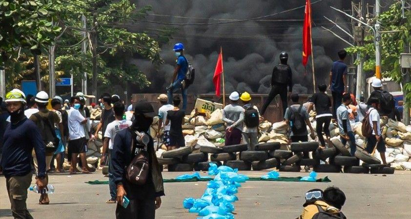 Myanmar'da askeri darbeden bu yana 120 bin kişi yerinden edildi, 75 kişi kayboldu