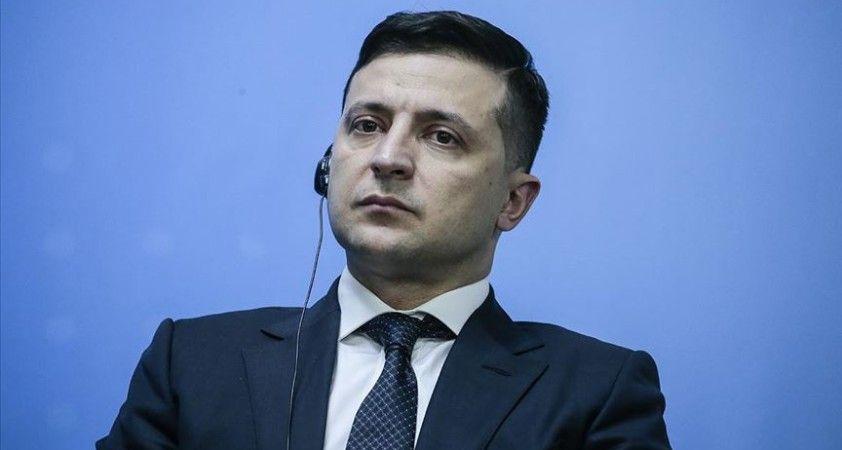 Ukrayna Devlet Başkanı Zelenskiy Kovid-19'a yakalandı