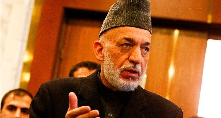 Eski Afganistan Cumhurbaşkanı Karzai: En kısa sürede Taliban'la müzakereler ciddi şekilde yeniden başlayacaktır