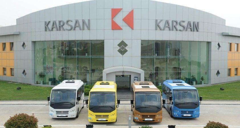 Karsan'ın elektrikli minibüsleri Romanya'da hizmete başladı