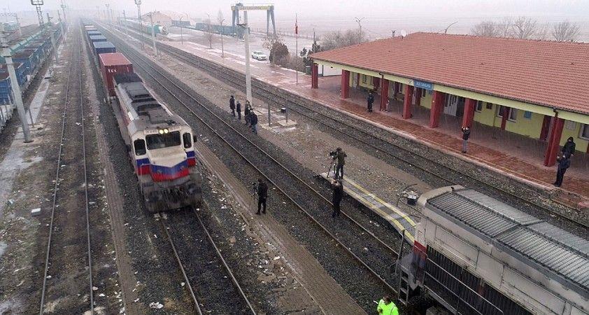 2. ihracat treni Sivas'ta