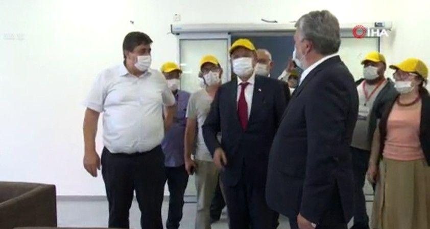 KKTC Başbakanı Tatar, Türkiye tarafından yaptırılan pandemi hastanesini ziyaret etti