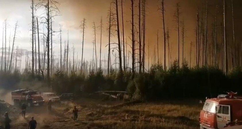 Rusya'daki orman yangınları yerleşim alanlarına sıçradı