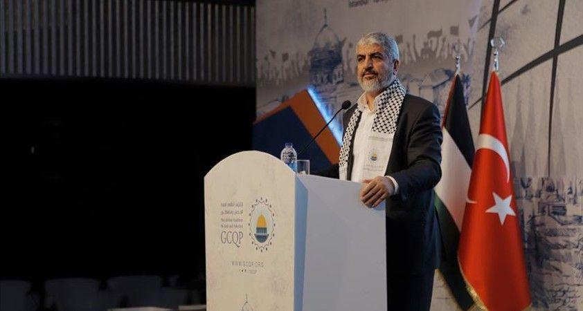 Eski Hamas lideri Meşal: Bugün asil Türkiye halkı ve cesur yöneticileri eski konumu ve rolünü geri kazanıyor