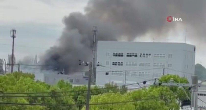 Japonya'da kimyasal madde üreten fabrikada patlama