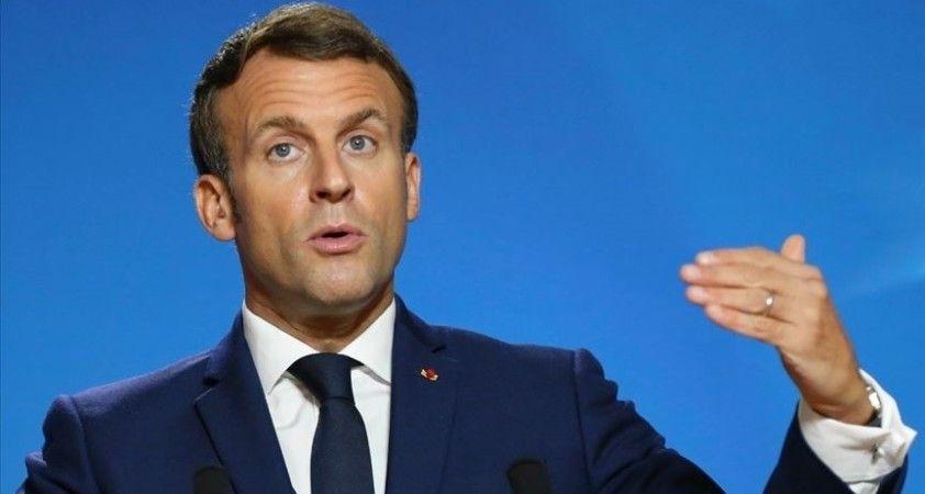 Fransa Cumhurbaşkanı Macron Cezayir ile gerginliğin geçmesini umuyor