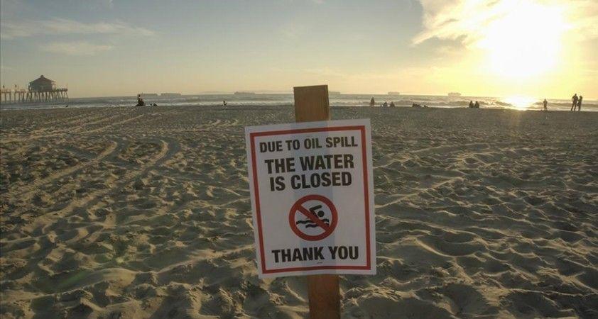 ABD'de doğal hayatı tehdit eden petrol sızıntısı nedeniyle güney California sahilleri kapatıldı
