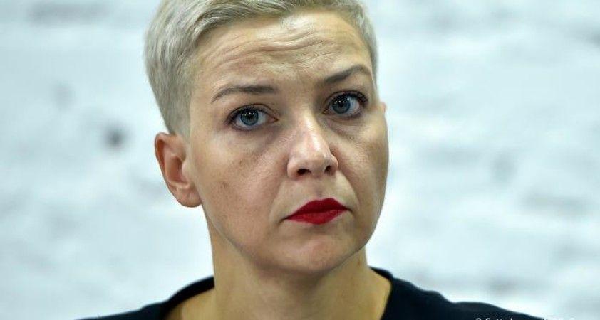Belarus muhalif Kolesnikova'nın gözaltına alındığını açıkladı