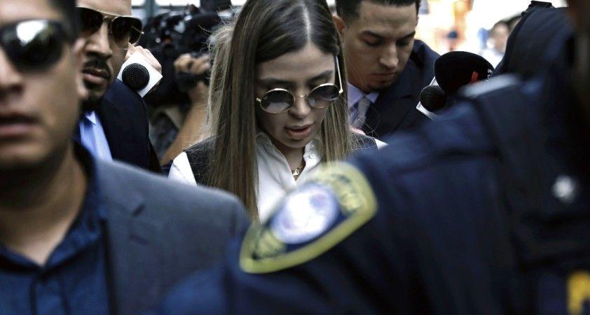 El Chapo'nun eşi kartel için çalıştığını itiraf etti