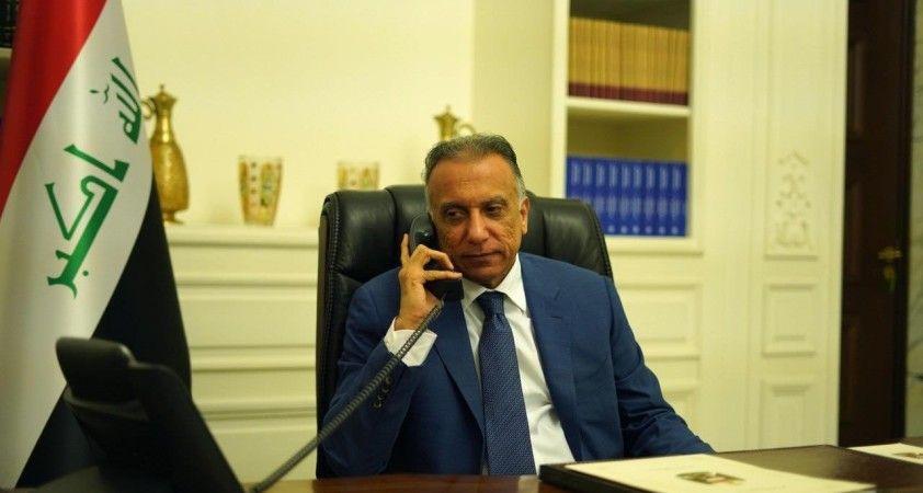 Irak Başbakanı el-Kazımi, Fransa Cumhurbaşkanı Macron ile görüştü